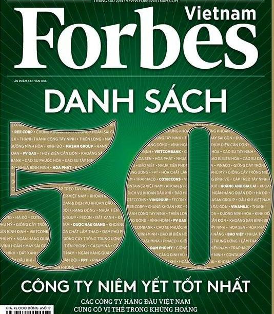 Forbes công bố 50 công ty niêm yết tốt nhất Việt Nam - Ảnh 1