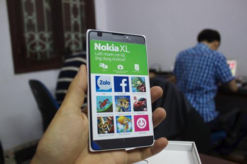 Đập hộp Nokia XL chính hãng bắt đầu bán tại Việt Nam - Ảnh 3