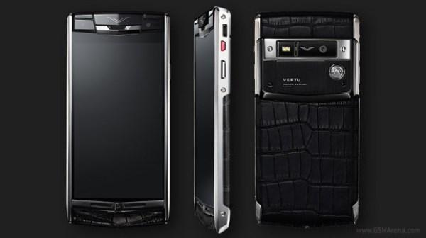 Ngắm điện thoại sang chảnh của Vertu với giá 240 triệu đồng - Ảnh 1
