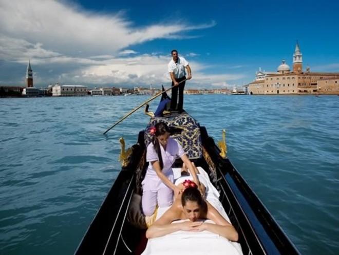 10 dịch vụ massage kỳ lạ nhất thế giới - Ảnh 6