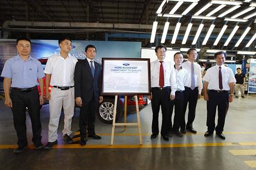 Ford Việt Nam xuất xưởng EcoSport hoàn toàn mới - Ảnh 1