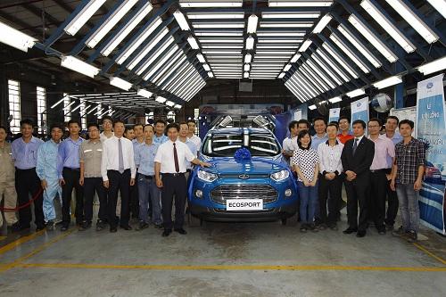 Ford Việt Nam xuất xưởng EcoSport hoàn toàn mới - Ảnh 2