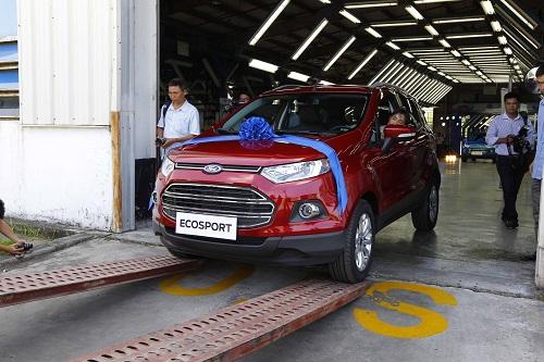 Ford Việt Nam xuất xưởng EcoSport hoàn toàn mới - Ảnh 3