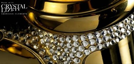 Chiếc xe đạp dát vàng, nạm 600 viên pha lê giá... 2 tỷ đồng - Ảnh 3
