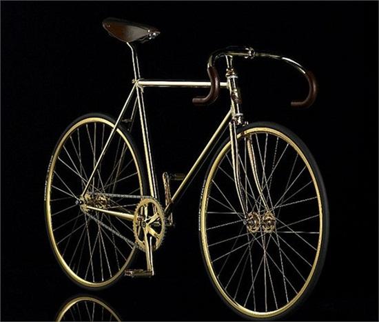 Chiếc xe đạp dát vàng, nạm 600 viên pha lê giá... 2 tỷ đồng - Ảnh 5