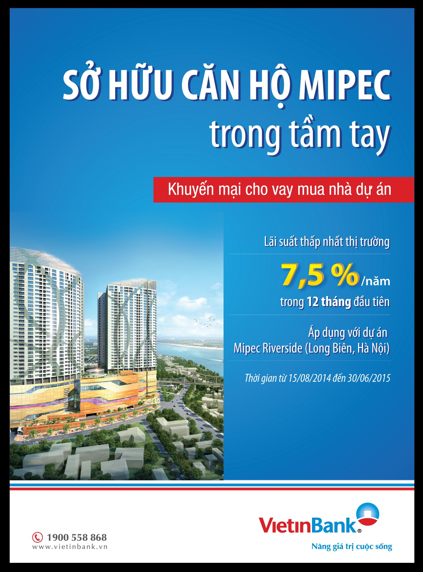 Sở hữu căn hộ Mipec trong tầm tay - Ảnh 1