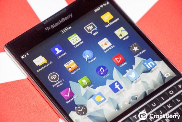 Mãn nhãn với BlackBerry Passport đậm chất BB - Ảnh 3