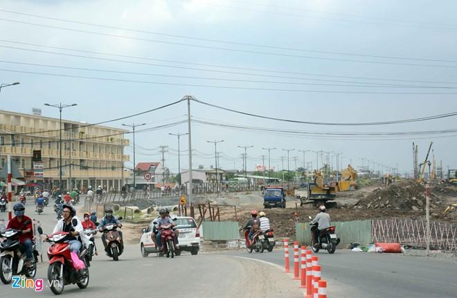 Thông xe tiếp đường nội đô 10 làn đẹp nhất Sài Gòn - Ảnh 11