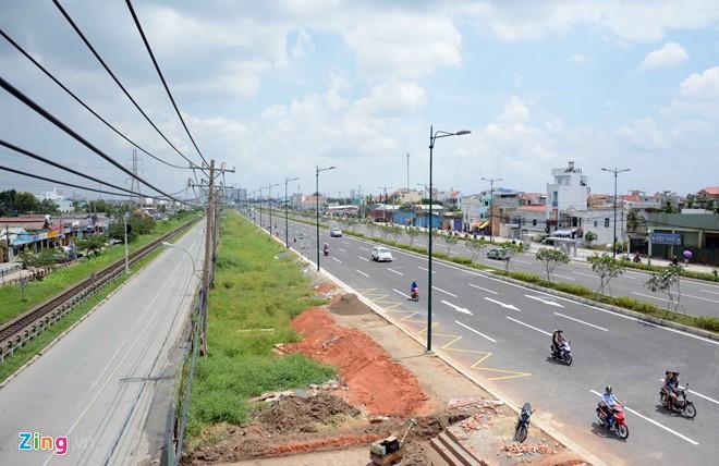 Thông xe tiếp đường nội đô 10 làn đẹp nhất Sài Gòn - Ảnh 3