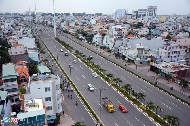 Thông xe tiếp đường nội đô 10 làn đẹp nhất Sài Gòn - Ảnh 5
