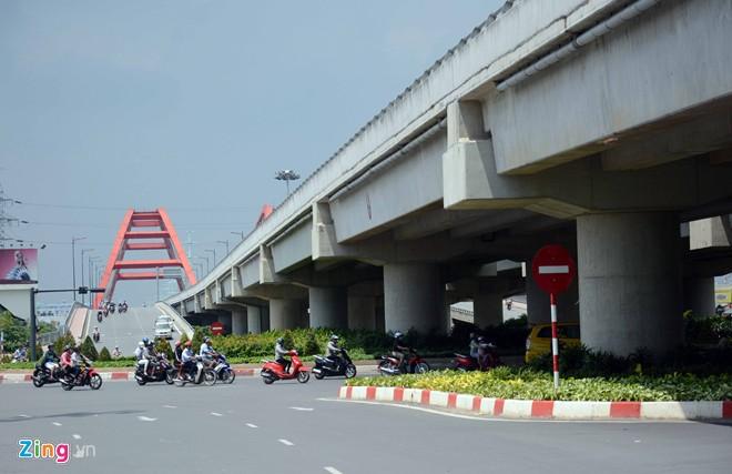 Thông xe tiếp đường nội đô 10 làn đẹp nhất Sài Gòn - Ảnh 8