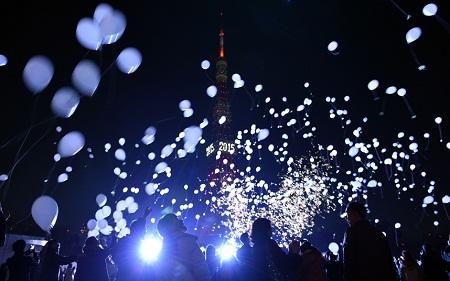 Pháo hoa bung nở khắp thế giới chào đón năm mới 2015 - Ảnh 5