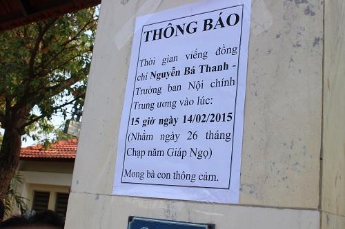 Chùm ảnh: Người dân Đà Nẵng khóc thương ông Nguyễn Bá Thanh - Ảnh 4