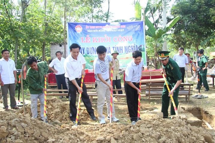 Báo ĐS&PL ký kết phối hợp xây mới 80 ngôi nhà cho người nghèo - Ảnh 2