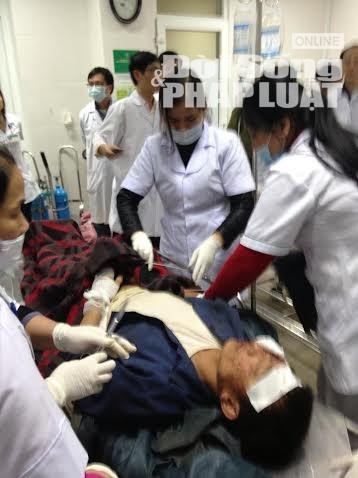 Công tác cứu chữa nạn nhân trong vụ sập giàn giáo ở Formosa - Ảnh 4