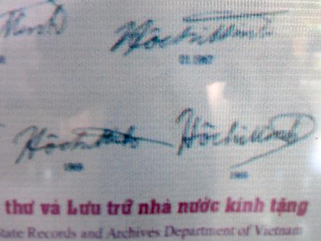 79 chữ ký của Bác Hồ - Ảnh 5
