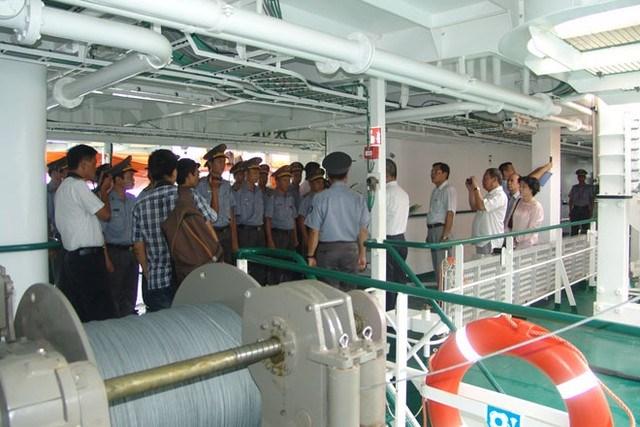 Khám phá tàu Kiểm ngư hiện đại nhất Việt Nam - Ảnh 5