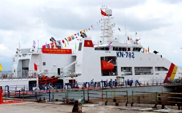 Khám phá tàu Kiểm ngư 782 hiện đại nhất Việt Nam - Ảnh 1
