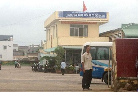 Đình chỉ hoạt động Trung tâm đăng kiểm xe cơ giới Bình Thuận - Ảnh 1