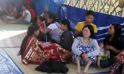 Dân Kon Tum tiếp tục dựng lều đòi nợ nhà máy cồn ở Quảng Nam - Ảnh 1