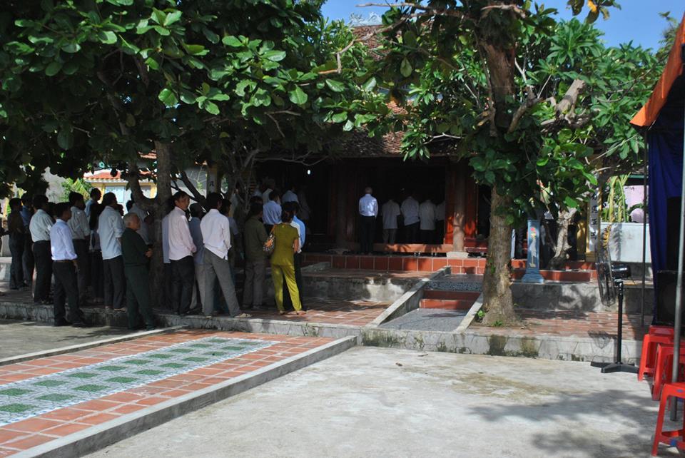 Nghệ An: Tổ chức lễ Kỳ Khoa cầu cho học sinh chuẩn bị thi cử - Ảnh 2