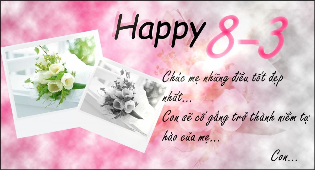 Lời chúc ngày 8/3 hay, ý nghĩa nhất dành tặng mẹ và vợ - Ảnh 1