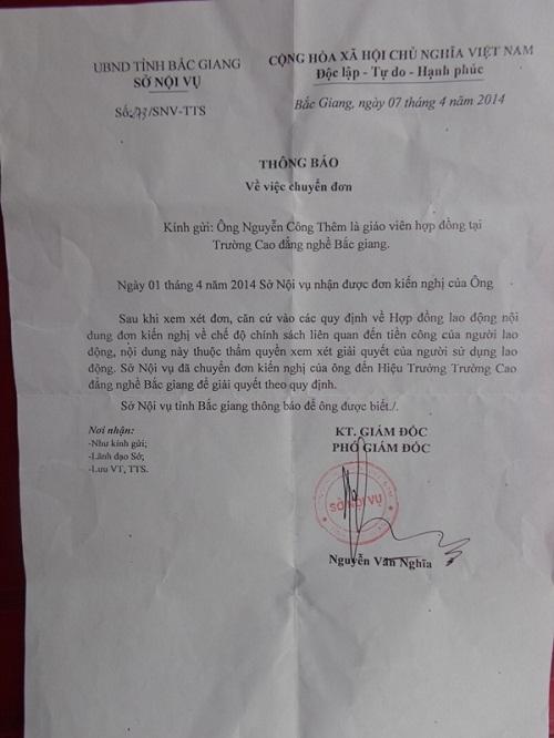 Vụ 47 giáo viên kêu cứu: Cơ quan chức năng tỉnh Bắc Giang ở đâu? - Ảnh 2