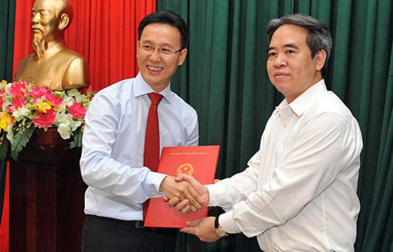 Bổ nhiệm Phó TGĐ Vietinbank làm Chánh văn phòng NHNN - Ảnh 1