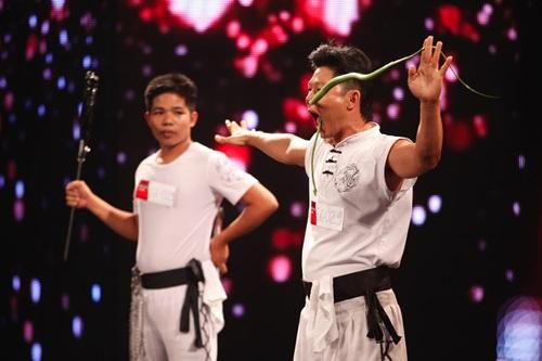 Vietnam's Got Talent: Thí sinh khiến Thúy Hạnh run rẩy cả người - Ảnh 2