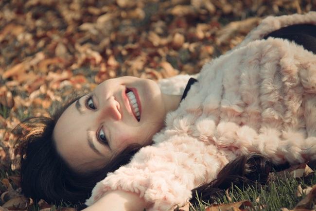 Vy Oanh khoe vẻ đẹp ngọt ngào tại Mỹ - Ảnh 10