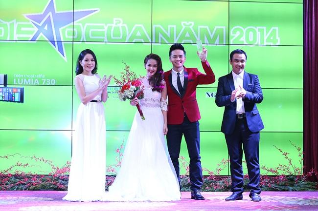 Minh Hằng, Sơn Tùng đoạt giải mỹ nhân - mỹ nam của năm - Ảnh 6
