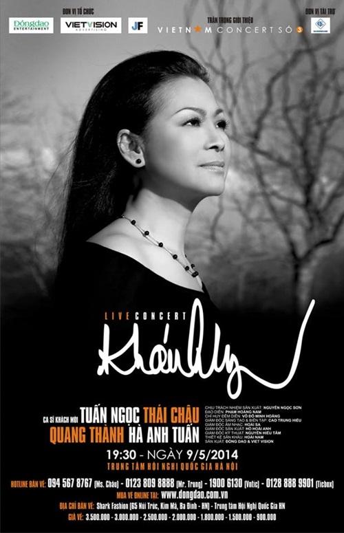 Khánh Ly làm liveshow ở Hà Nội sau nhiều lần lỡ hẹn - Ảnh 2