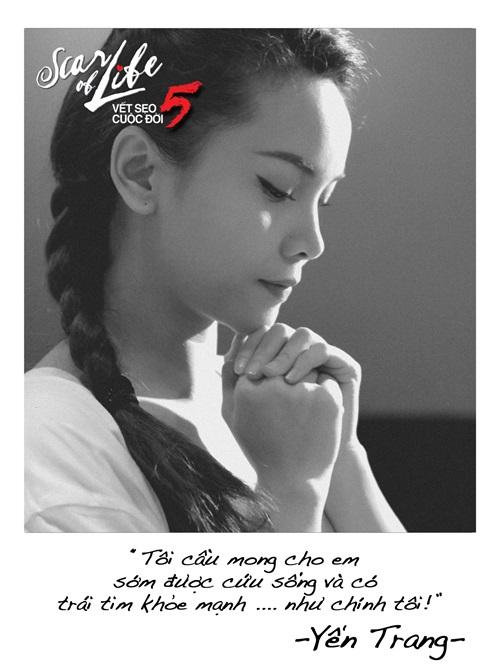 Hàng loạt nghệ sĩ cùng chụp ảnh cầu nguyện làm từ thiện - Ảnh 2