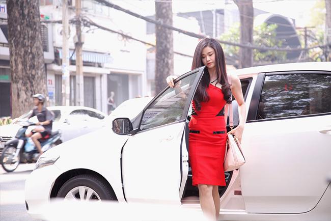 Trương Quỳnh Anh đi tân trang nhan sắc sau scandal ly hôn - Ảnh 2