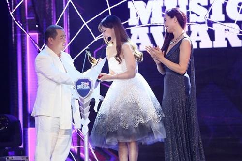 Trung Quân Idol, Bích Phương thắng lớn tại giải Zing Music Awards 2014 - Ảnh 2
