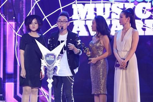 Trung Quân Idol, Bích Phương thắng lớn tại giải Zing Music Awards 2014 - Ảnh 4