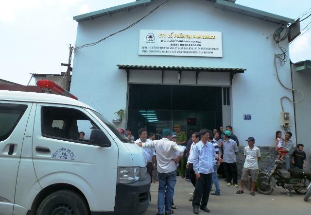 TP.HCM: Nổ lớn tại xưởng nước đá, 1 công nhân thiệt mạng - Ảnh 1