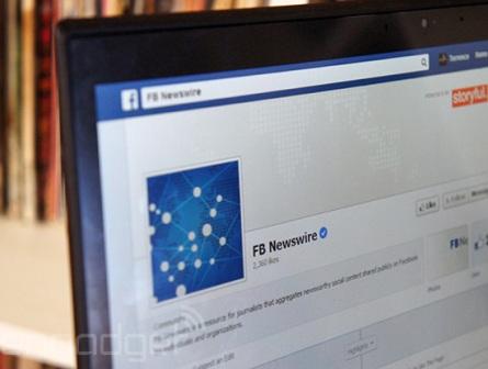 "Facebook sẽ ""giám sát"" tin tức lá cải - Ảnh 1"