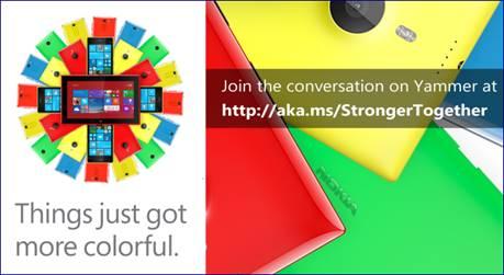 Microsoft chính thức chào đón Nokia - Ảnh 1