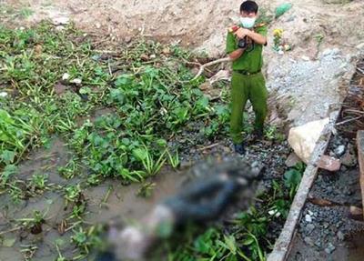 Sự thật vụ xác chết trôi sông bị trói 2 chân, buộc miếng xốp - Ảnh 1