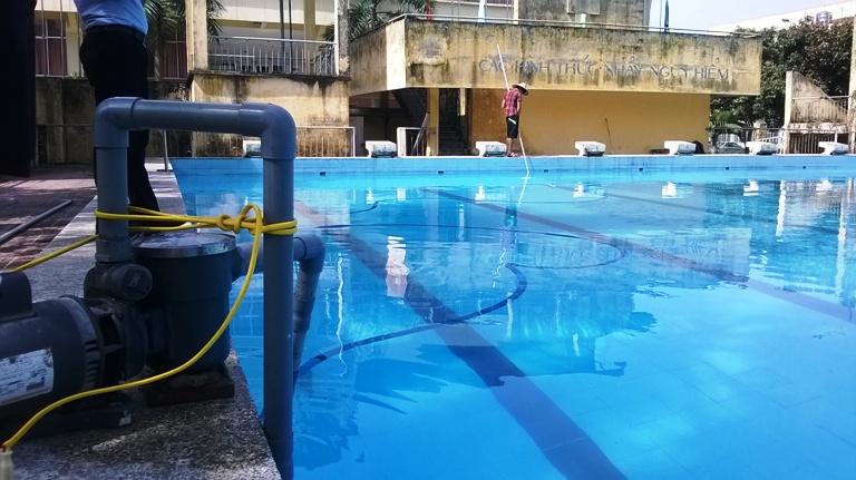 """Chủ bể bơi Cầu Giấy nói gì về vụ """"sục hóa chất không thay nước""""? - Ảnh 3"""