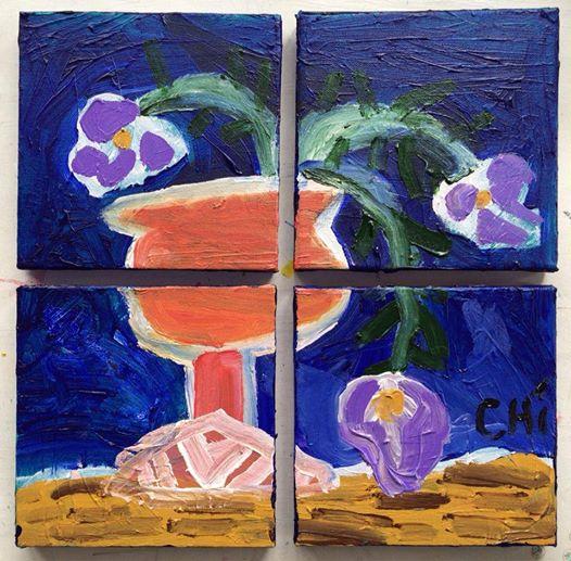 Cậu bé tự kỷ mở triển lãm tranh ở Hà Nội - Ảnh 5