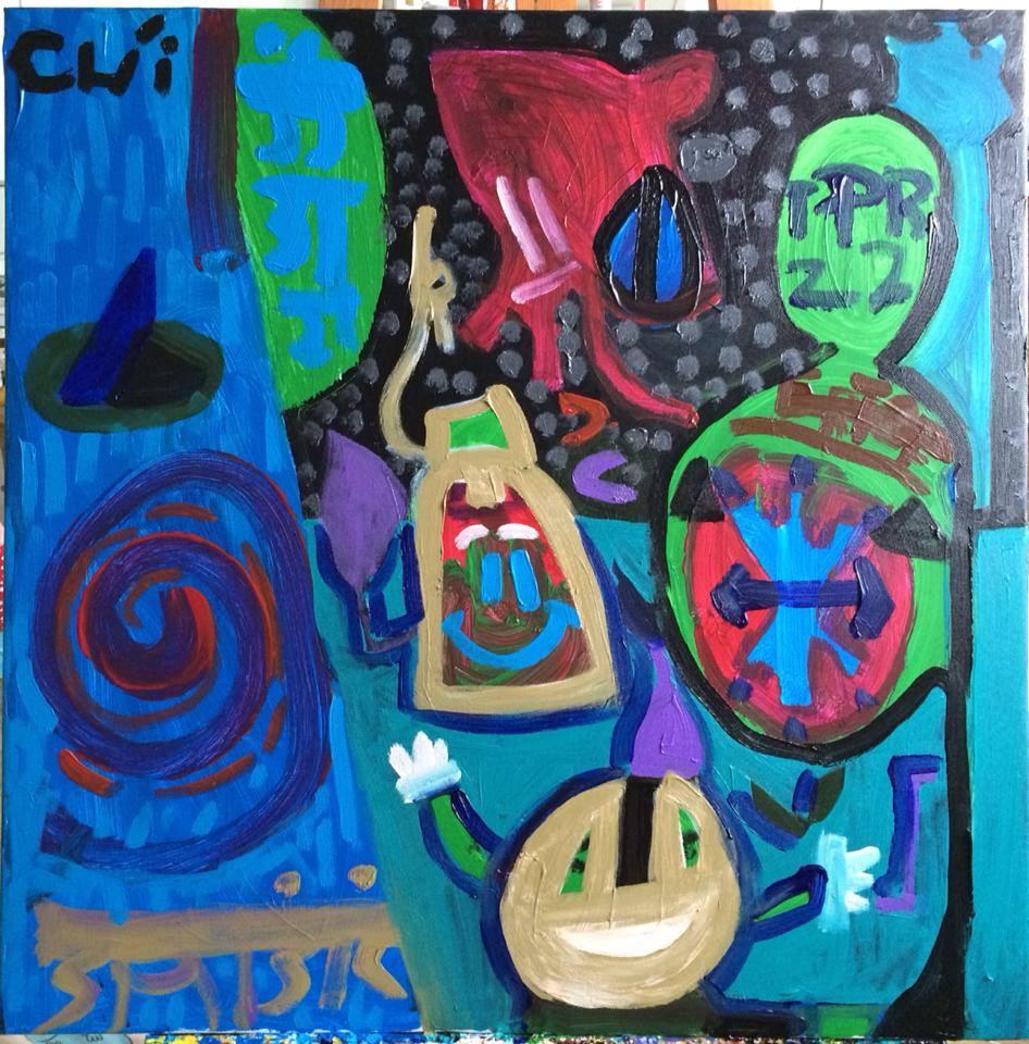 Cậu bé tự kỷ mở triển lãm tranh ở Hà Nội - Ảnh 4