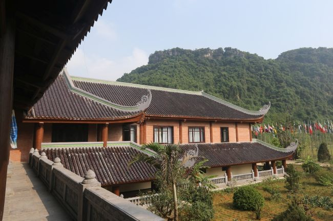 Chiêm ngưỡng nhà khách 5 sao toàn gỗ quý ở chùa Bái Đính - Ảnh 2