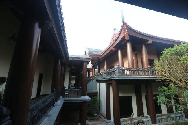 Chiêm ngưỡng nhà khách 5 sao toàn gỗ quý ở chùa Bái Đính - Ảnh 8