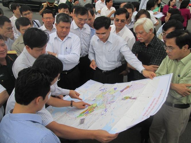Điều tra đất dự án cảng hàng không Quốc tế Long Thành - Ảnh 2
