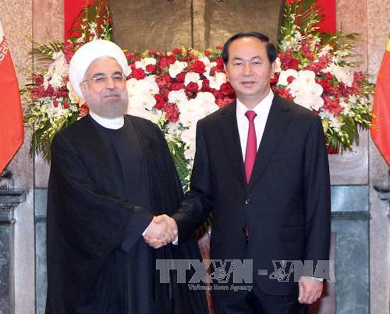 Tổng thống Iran kết thúc chuyến thăm Việt Nam - Ảnh 1