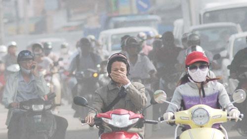 Hà Nội sẽ thông báo tình trạng môi trường không khí hàng ngày - Ảnh 1