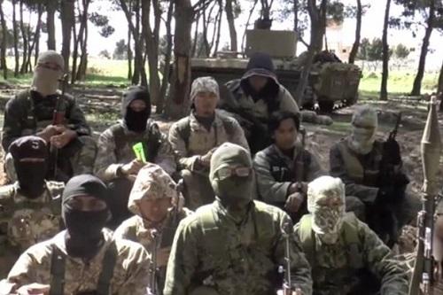 IS gửi thông điệp đe dọa ông Trump qua video - Ảnh 1