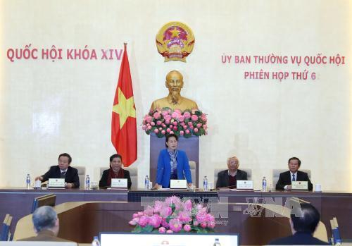 10 phiên họp của Ủy ban Thường vụ Quốc hội trong năm 2017 - Ảnh 1